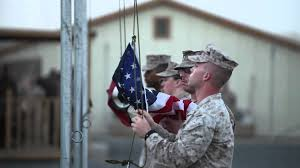 Soldiers Lifting Flag Marines Raise Flags To Remember September 11th 2001 Youtube
