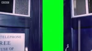 Tardis Interior Door Doctor Who Tardis Doors Open On Green Screen