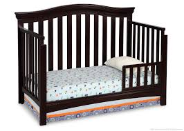How To Convert Crib Into Toddler Bed Bennington Curved 4 In 1 Crib Delta Children