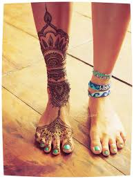 right leg henna design in 2017 photo pictures