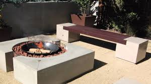 Firepit Benches Cinder Block Pit Bench Photos