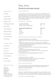 resume sample resume for non college graduate student examples