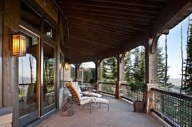 porch post ideas porch traditional with wood roof overhang wood