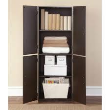 Storage Furniture Amazon Com Mainstays Tall Storage Cabinet 4 Door Cinnamon