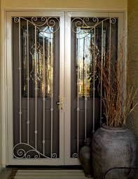 Anderson French Doors Screens by Door Design Front French Door With Steel Security Doors Exterior