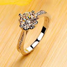 gold and silver engagement rings jewels gullei anniversary ring wedding ring
