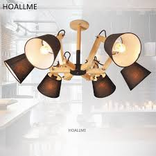 adjustable arm lighting fixtures modern octopus style adjustable arm wooden led ceiling lights for