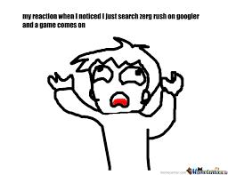 Zerg Rush Meme - zerg rush by doodler meme center