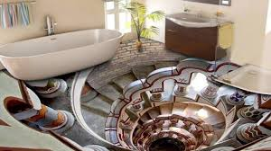 bathroom tile floor designs 3d bathroom floor designs that will mess with your mind ᴴᴰ