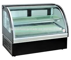 Refrigerated Cabinets Manufacturers Sclg 80f Refrigerated Table Top Display With Ce Certificated Oem