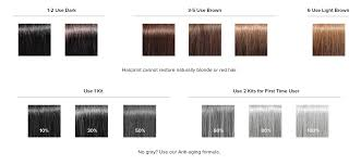 shades of gray color shades of red hair dye chart clanagnew decoration