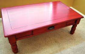 red coffee table rascalartsnyc