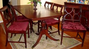 furniture lovely pretty antique dining room table and chairs furniturefetching duncan phyfe furniture the real vs reproduction main line antique oak dining table and chairs