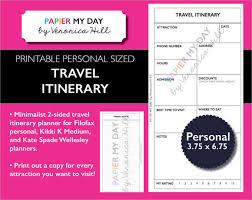 7 travel itinerary samples psd vector eps pdf