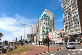 parade hotels marine parade lined with hotels at durban south africa