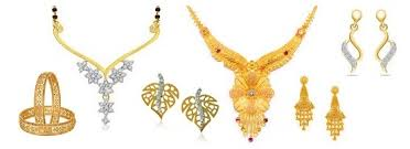 golden jewellery necklace images 25 simple and heavy indian gold jewellery designs jpg