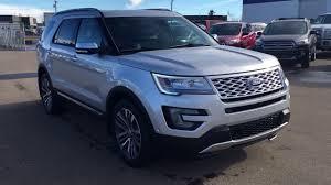 Ford Explorer Platinum - 2017 ford explorer 4wd 4dr platinum freedom ford youtube