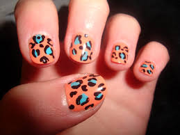 nail designs leopard print image collections nail art designs