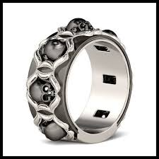 skull wedding rings skull wedding rings for men 2018 weddings