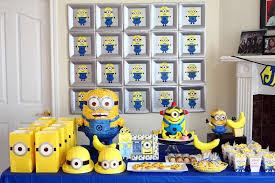 minion birthday party ideas creative idea yellow minion birthday cake party decoration