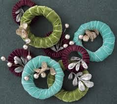 velvet ribbon ornaments crafts new today