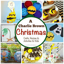peanuts brown christmas brown christmas 24 crafts recipes activities for kids
