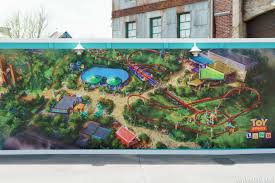photos new toy story land concept art shows changes from the photos new toy story land concept art shows changes from the original announcement