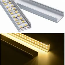 aluminium channel for led strips with cover aluminium channel for