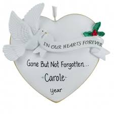memorial ornaments memorial christmas ornaments gifts for you