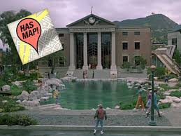 the ultimate back to the future filming location map