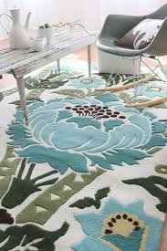 Round Flower Rugs Contemporary Floral Rug Roselawnlutheran
