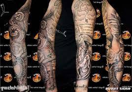 religious tattoos sleeves designs men cool tattoos bonbaden