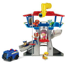 nickelodeon paw patrol playset vehicle figure
