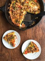 Low Carb Comfort Food Low Carb Breakfast Pizza My Life Cookbook