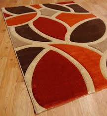 Chocolate Brown Area Rugs Leaf Orange And Brown Area Rug Babies Chocolate Orange Area Rugs