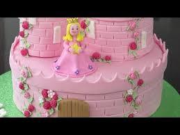 castle cakes how to make a princess castle cake part 2