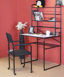 Black Student Desk With Hutch Alcove Student Desk Hutch Chair Set Black Half A Home 112