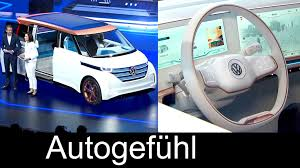 volkswagen electric concept new vw volkswagen budd e electric transporter multivan bus concept