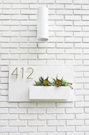 Diy House Best 25 Diy House Numbers Ideas On Pinterest Address Numbers