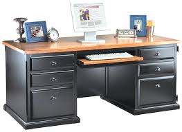 computer desk with cpu storage southton oynx black office furniture executive desk
