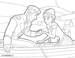 frozen coloring pages free printable frozen pdf coloring sheets