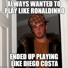 Diego Costa Meme - scumbag steve meme imgflip