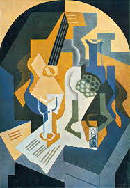 juan gris still life with fruit dish and mandolin juan gris
