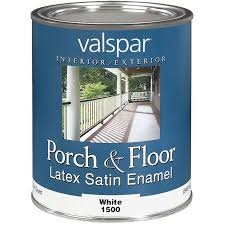 valspar interior and exterior latex porch u0026 floor enamel walmart com