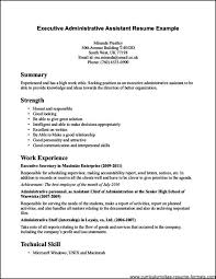 Free Sample Resume For Administrative Assistant by Sample Resume For Office Assistant Free Samples Examples
