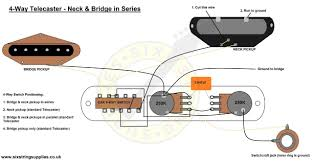six string supplies u2014 4 way telecaster wiring mod
