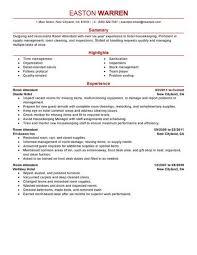 dining room attendant job description best room attendant resume exle livecareer