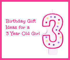 birthday gift ideas for 3 year outside the box