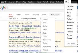Google Top Bar Phil Bradley U0027s Weblog Google Search Bar And Top Bar Changes