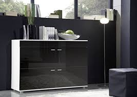 High Gloss Sideboards Uk High Gloss Sideboard With 4 Doors Modern Design Contemporary